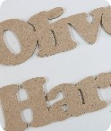 Laser Cut Letters and Craft Shapes